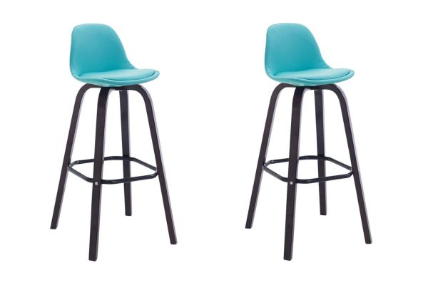 Lot de 2 Tabourets de Bar Avika Similicuir