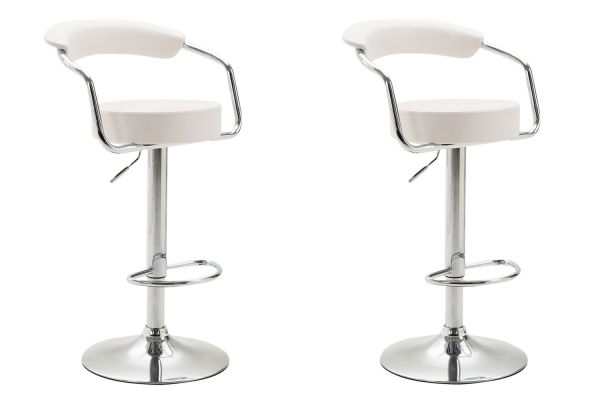 Lot de 2 Tabourets de bar Azzurri similicuir
