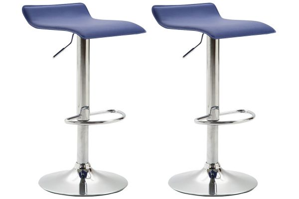 Lot de 2 tabourets de bar Dyn V2 Similicuir