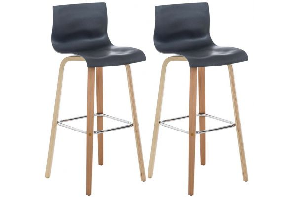 Lot de 2 Tabourets de Bar Malone