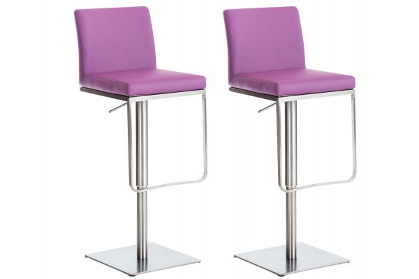 Lot de 2 tabouret de bar Panama similicuir