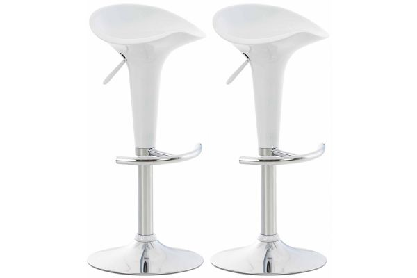 Lot de 2 Tabourets de Bar Saddle