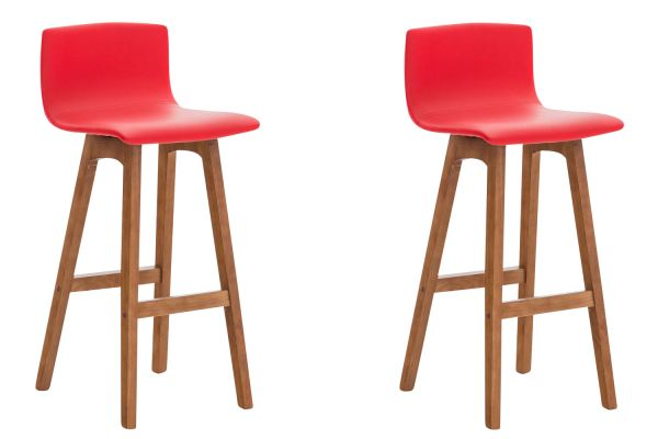 Set de 2 Tabourets de bar Taunus similicuir