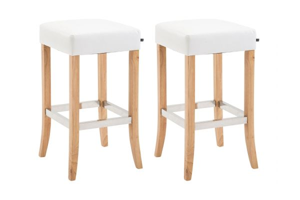 Lot de 2 tabourets de bar Venta similicuir