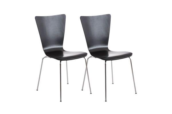 Lot de 2 chaises visiteur Aaron