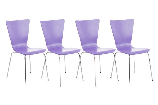 Lot de 4 chaises Aaron