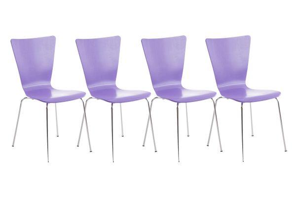 Lot de 4 chaises Aaron