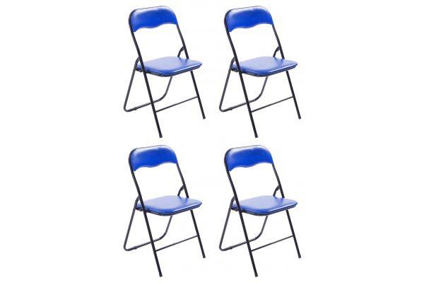 Lot de 4 Chaises pliables Felix