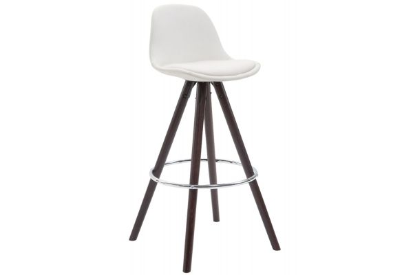 Tabouret de bar Franklin similicuir rond