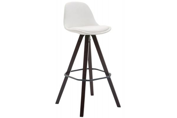Tabouret de bar Franklin similicuir square