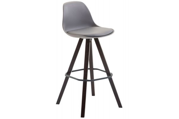 Tabouret de bar Franklin Dossier plastique square