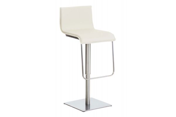 Tabouret de bar Limon en similicuir