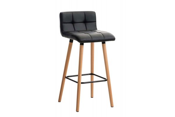 Tabouret de bar Lincoln similicuir