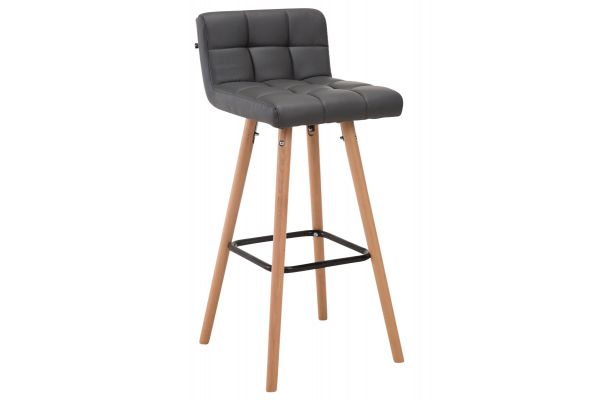 Tabouret de bar Lincoln V2 similicuir
