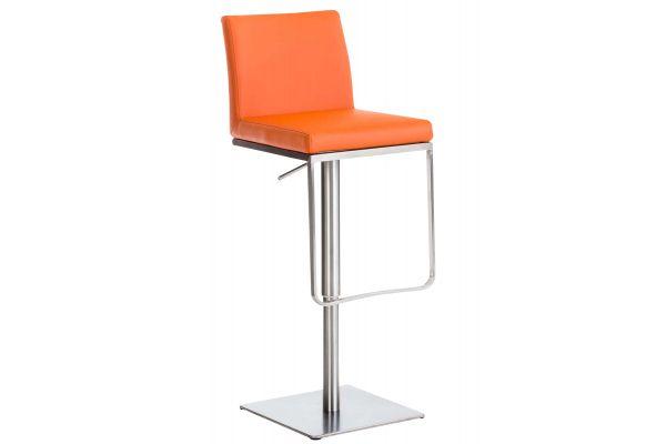 Barhocker Panama E Kunstleder orange