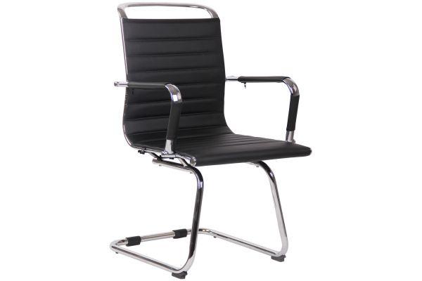 Chaise de visiteur Balve avec piètement Luge