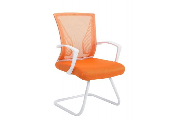Besucherstuhl Bonnie W orange