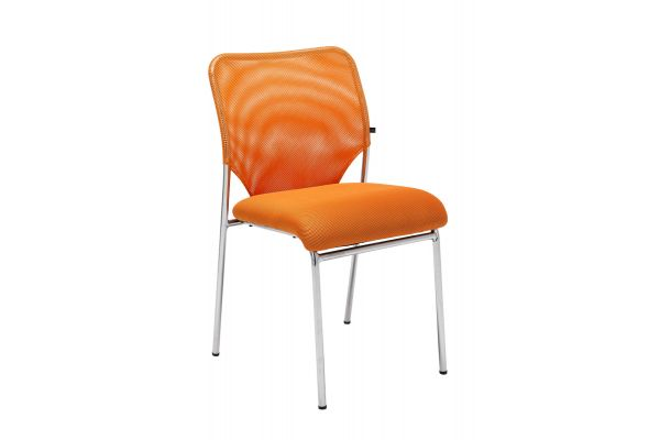 Besucherstuhl Klint orange