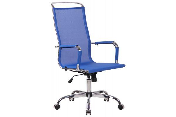 Bürostuhl Branson Mesh blau