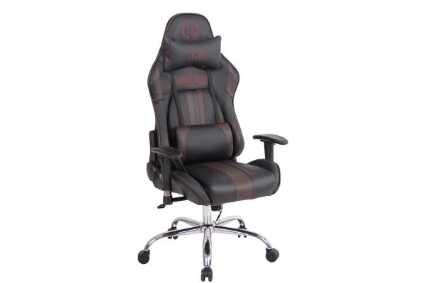 Chaise de bureau Limit XM en similicuir
