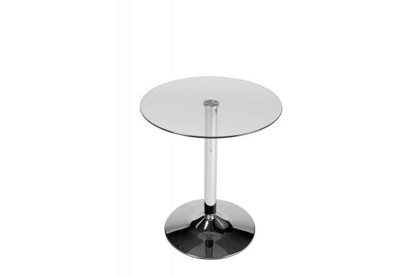 Table ronde en verre 70 cm