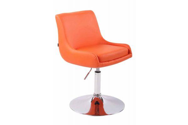 Lounger Club Kunstleder orange