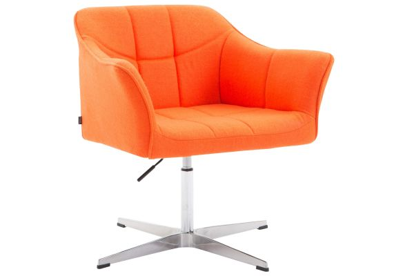 Lounger Jean Stoff orange