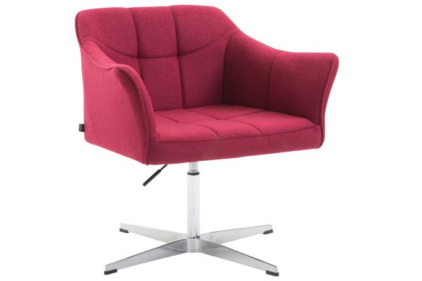 Lounger Jean Stoff rot