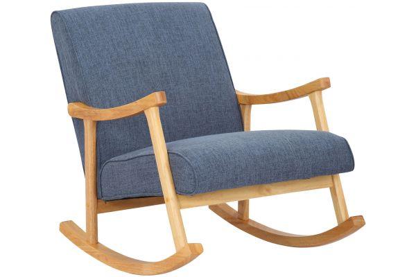 Chaise a bascule Morelia en tissu