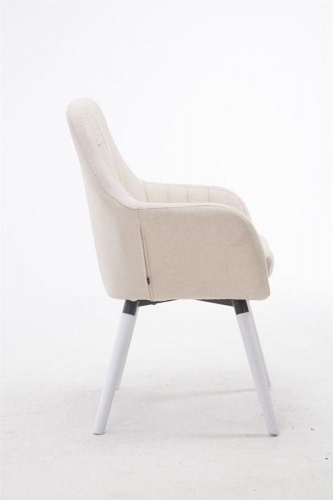 Chaise de Salle à manger Florian tissu