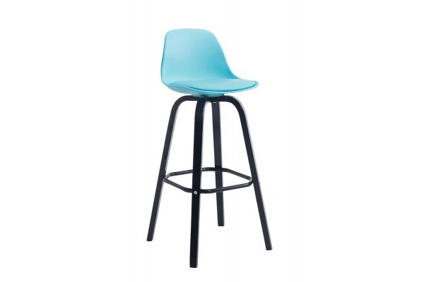Tabouret de bar AVIKA support noir