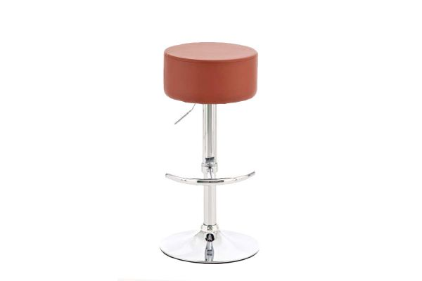 Tabouret de bar sans dossier for Barhocker cognac