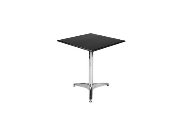 Table d´appoint cuir véritable