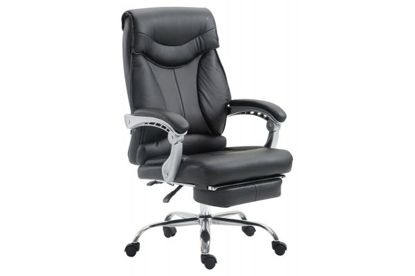 Fauteuil de bureau Big Iowa similicuir
